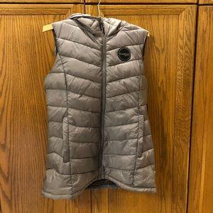 Bebe Sport vest with hood
